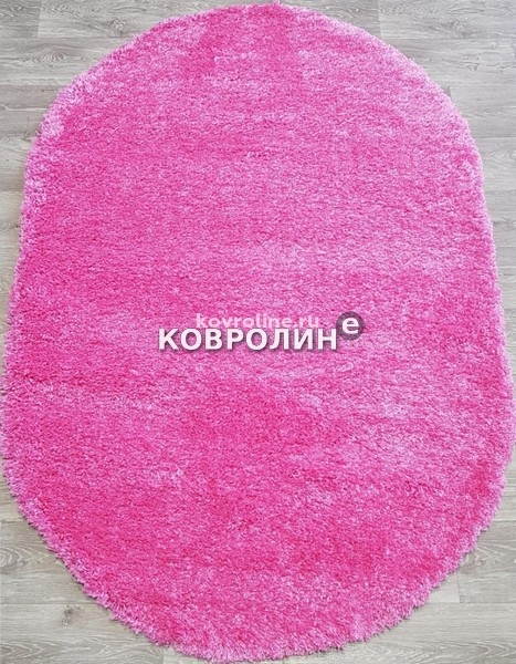 Shaggy Frise 10013h pink pink oval